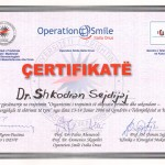 certificate operationsmile